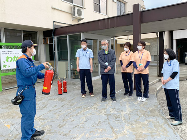 消火訓練/救急処置訓練