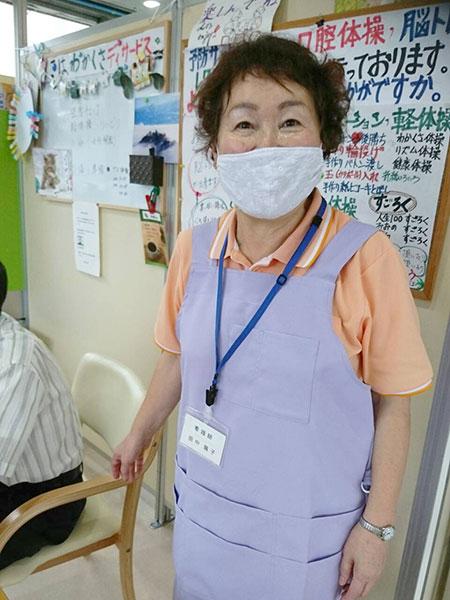 スタッフ紹介- 田中看護師 -